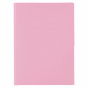 ライオン事務器 カラーポケットホルダー(紙製) 2つ折りタイプA4(見開きA3判) ピンク 1冊