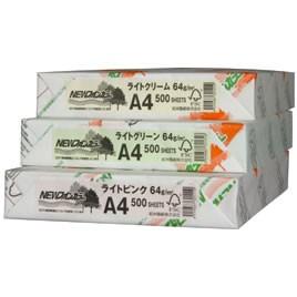 北越紀州製紙 ファインカラーA4/500枚クリーム【返品・交換・キャンセル不可】【イージャパンモール】