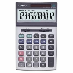 カシオ 本格実務電卓 12桁 ジャストサイズ 1台