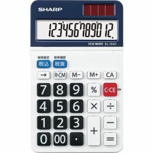 シャープ 電卓 12桁 ミニナイスサイズ 1台