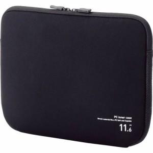 ELECOM ネオプレンPCインナーバッグ 11.6インチノートPC対応 ブラック 1個
