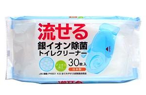 薦田紙工 流せる銀イオン除菌トイレクリーナー30枚入【イージャパンモール】
