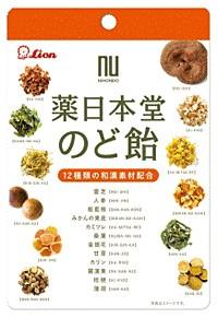 ★まとめ買い★ ライオン菓子 薬日本堂のど飴 ×6個【イージャパンモール】