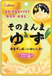 ★まとめ買い★ ライオン菓子 そのまんまゆず ×6個【イージャパンモール】