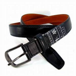 大きいサイズ メンズ ベルト 牛革 合皮使用 ビジネス 紳士 黒 GB-I3 ロング ウエスト110cmまで メンズベルト レザー 長さ調節 長い 本皮