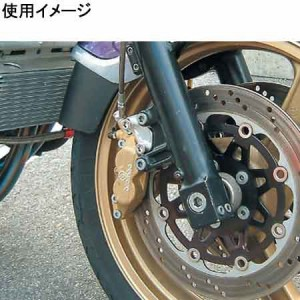 ACTIVE(アクティブ) キャリパーサポート [BLK] (BREMBO 40mm&STDローター径) ZZR1100 D/ZEPHYR1100/GPZ900R A7-A11/ZEPHRY400X