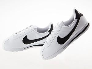 sneakers for cheap 1de6b 850e8 ナイキ NIKE CORTEZ BASIC SL GS LADIES レディースサイズ コルテッツ ベーシック レザー WHITE BLACK   904764-102