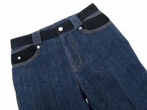 【送料無料】【中古】ルイヴィトン ジーパン デニム サイドジップ レディースサイズ36 LOUIS VUITTON ズボン パンツ
