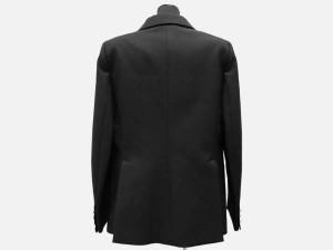 ルイヴィトン テーラードジャケット レディースサイズ40 LOUIS VUITTON ヴィトン 服 スーツ ジャケット 黒 ブレザー
