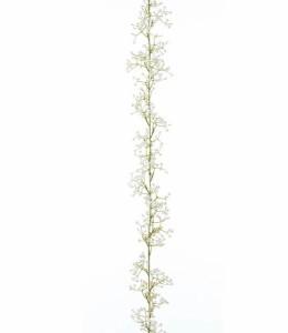 造花 フラワー 観葉植物 花束 カスミソウガーランド(760) [FLGA7698]【フェイク グリーン 資材  フラワー アレンジメント】