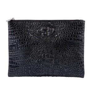 04262c7c3a30 ワニ革 クロコダイル クラッチバッグ 本革 ブラック 黒 鞄 メンズ [050_1crb]