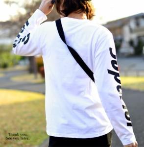 送料無料 Tシャツ 長袖 カットソー ロンT インナー メンズ レディース 部屋着 プリント スマイル キャラクター 総柄 シンプル ストリート