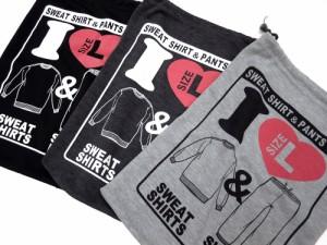 (ジーンズショップ マルカワ) Jeans shop MARUKAWAスウェット上下セット 収納袋付き