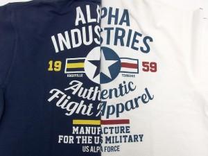 送料無料 大きいサイズ ALPHA ポロシャツ 半袖 メンズ レディース 部屋着 シンプル プリント ストリート アメカジ ミリタリー