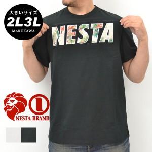 【送料無料】【大きいサイズ】 3L 4L 5L メンズ Tシャツ 半袖【キングサイズ 2L 3L 夏 マルカワ ストリート ライオン フラワー
