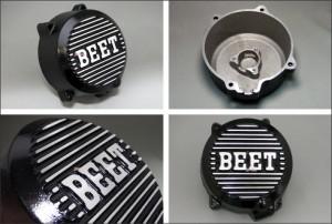 BEET[日本ビート工業]:ポイントカバー(ブラック)+ジェネレーターカバー(ブラック)/GPZ400F・Z400GP・Z400FX