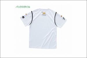 KAWASAKI[カワサキ]:カワサキ Cool-Tex Tシャツ フライングK(ホワイト)/フリーサイズ