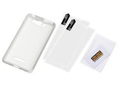 送料無料有/[グッズ]/AQUOS PHONE Xx mini 303SH用シルキータッチ・シリコンジャケット/ホワイト(半透明) RT-303SHC1/W ホワイト(半透明