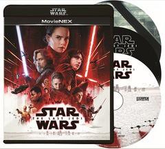 送料無料有/[Blu-ray]/スター・ウォーズ/最後のジェダイ MovieNEX [Blu-ray+DVD] [初回限定版]/洋画/VWES-6640