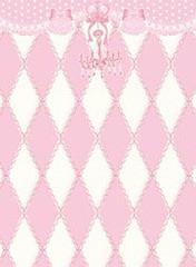 送料無料有/[APPAREL]/マキシマム/黒猫アリスのマジカル☆ダイヤ柄の不思議な懐中時計ベスト ピンク x ホワイト (F) ゴスロリ・パンク/MA
