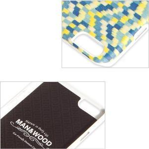 man&wood マン&ウッド iPhone6用 ハードケース  MW-M1482 Yellow Submarine  天然木使用 ホワイトフレーム
