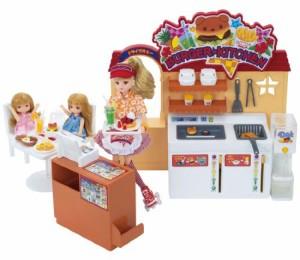 リカちゃん ドライブスルー できたてハンバーガーキッチン