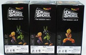 ドラゴンボールZ DRAMATIC SHOWCASE〜1st season〜 Vol.1&2 3種セット