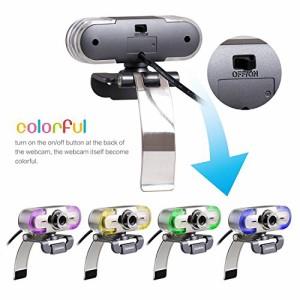 PAPALOOK PA452 ウェブカメラ マイク内蔵 ウェブカム 200万画素 Webカメラ フル HD 1080p 高画質