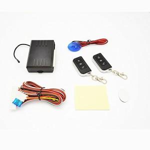 【集中ドアロック付き車用/日本語説明書付き】キーレス エントリー システム キット 188 12V専用 ダミーセキュリティ LED付き アンサーバ