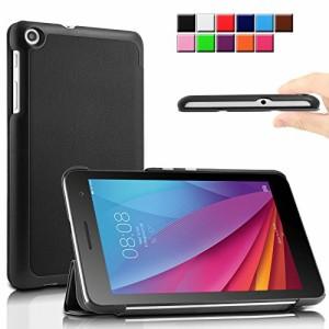 Huawei MediaPad T1 7.0ケース Infiland Huawei MediaPad T1 7.0カバー MediaPad T1 7.0 専用保護ケース 超薄型 超軽量 三つ折りスタンド