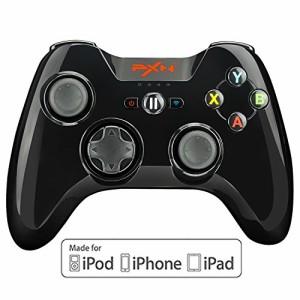 iPhone コントローラー Apple認証 IOS Bluetooth MFi ゲームパッド iPhone, iPad, iPod touch, apple TV対応 (黒)