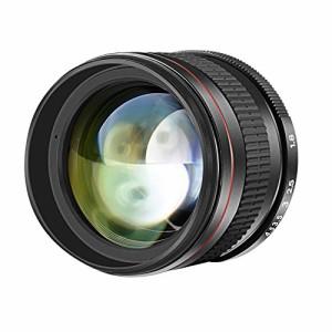 Neewer 85mm f/1.8望遠レンズ 非球面 手動フォーカス HDガラス 肖像画 Nikon D5 D4S DF D4 D810 D800 D750 D610 D600 D500 D7200 D7100 D