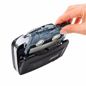 カセットテーププレーヤー PC不要 MP3変換カセットテーププレーヤー 簡単操作でUSBメモリーに直接変換保存 普通のプレーヤーとしても使