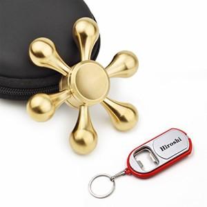 Fidget Spinner ハンドスピナー フォーカスおもちゃ Hand Spinner 指スピナー 新モデル 重量感 高速回転 3?6分平均スピン ボールベア