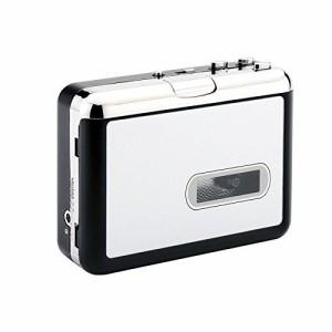 PC不要!カセットテープ USB変換プレーヤー カセットテープデジタル化 MP3コンバーター カセットテープのプレーヤーとしても使えます。M