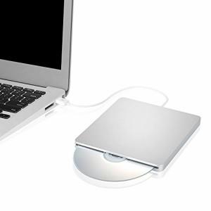 """""""Blingco 外付けDVDドライブ USB2.0 超薄型 CD-R CD-ROM CD-RW DVD-R DVD+R DVD-RAM DVD-RW DVD+RW ポータブル光学式スロットイン外"""""""