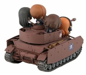 ぺあどっと ガールズ&パンツァー IV号戦車D型改 H型仕様 エンディングVer. ノンスケール 全長約115mm フィギュア5体付 塗装済完成品 PD