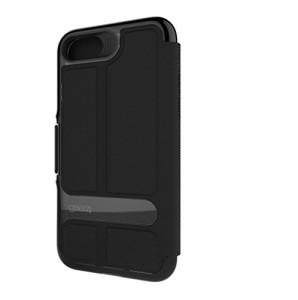 【Gear4】iPhone7plusケース 手帳型 OXFORD 英国発人気ブランド 冬季五輪スキー競技や米特殊部隊でも使用のD3Oテクノロジー採用 衝撃吸収