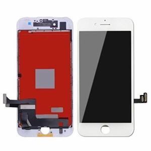 iPhone 7 plus 修理交換用フロントパネルセット 5.5インチ タッチパネル LCD液晶パネル(フロントガラスデジタイザ) 修理工具付き 割れ