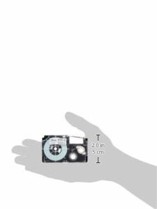カシオ ラベルライター ネームランド テープ 12mm XR-12WE-5P-E 白5本