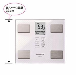 パナソニック 体重・体組成計   ホワイト EW-FA13-W