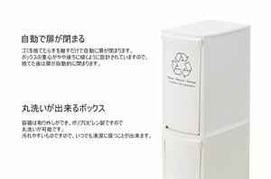 AZUMAYA ダストボックス2D LFS-932WH