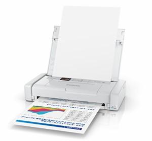 EPSON  A4モバイルインクジェットプリンター PX-S05W ホワイト 無線 スマートフォンプリント Wi-Fi Direct
