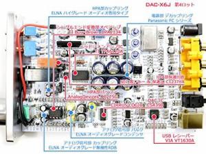 FX-AUDIO- DAC-X6J【ブラック】高性能ヘッドフォンアンプ搭載ハイレゾ対応DAC