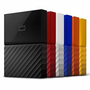 WD HDD ポータブル ハードディスク 4TB USB3.0 ブラック 暗号化 パスワード保護 ( PS4 / PS4pro 対応) 3年保証 My Passport WDBYFT0040BB