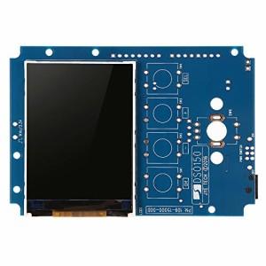 KKmoon 2.4インチTFT デジタル・オシロスコープ ポケットサイズ DIYキット ケースSMDハンダ付け 学習セット 1MSa/ s 0-200KHz