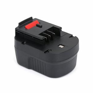 【POWERGIANT】ブラックアンドデッカー(BLACK+DECKER) A12 A12EX HPB12スライドバッテリー 12V 3.0Ah 互換バッテリー ニッケル水素