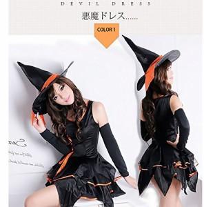 魔女 風 衣装 コスチューム レディース フリーサイズ