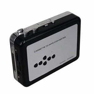 PC不要!カセットテープ USB変換プレーヤー カセットテープデジタル化 MP3コンバーター microSD対応、カセットテープの音源をMP3に簡