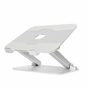 """""""BoYata ノートパソコンスタンド パソコンスタンド パソコン台 折りたたみ式 ノートPCスタンド タブレットホルダー 高さ/角度調整可能 """""""